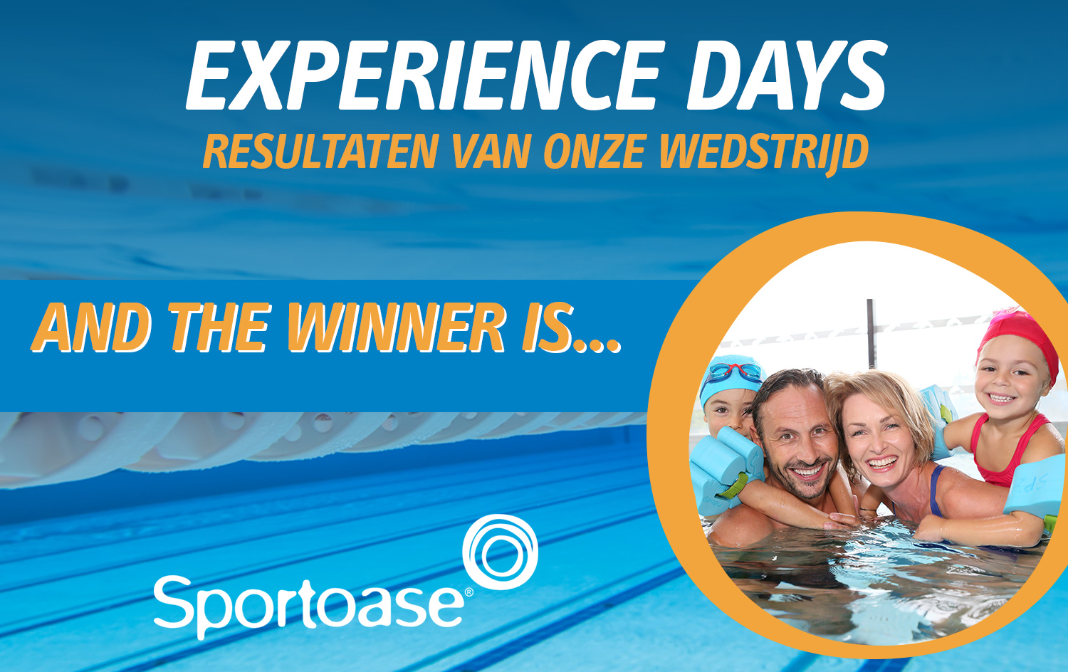 Winnaars Experience days!